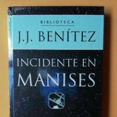 Libros: INCIDENTE EN MANISES - J.J. BENÍTEZ. Lote 259970945