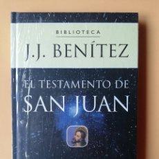 Libros: EL TESTAMENTO DE SAN JUAN - J.J. BENÍTEZ. Lote 259970950