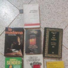 Libros: LOTE LIBROS. Lote 260365130