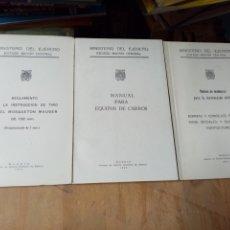 Libros: LOTAZO MINISTERIO DEL EJÉRCITO ESTADO MAYOR CENTRAL. Lote 260378915