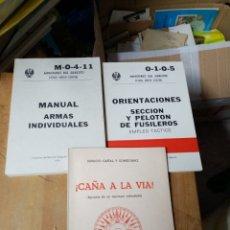 Libros: LOTAZO LIBROS MILITARES. Lote 260379430