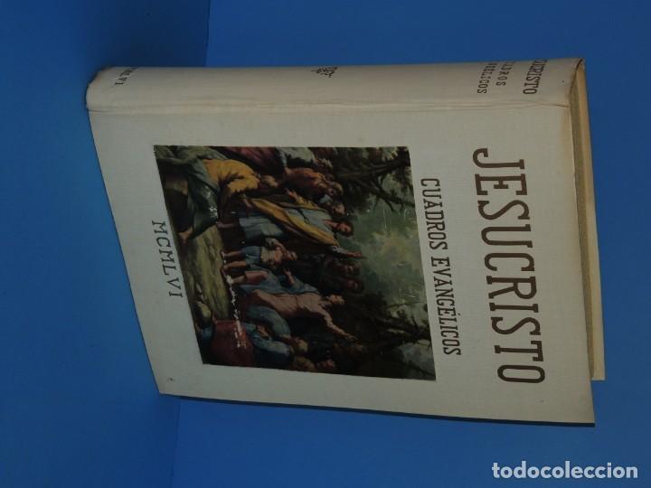 Libros: JESUCRISTO. CUADROS EVANGELICOS. Patrocinada por el Caudillo de España, Francisco Franco Bahamonde. - Foto 2 - 260559515