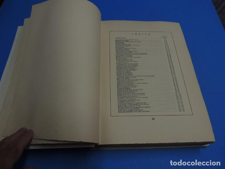 Libros: JESUCRISTO. CUADROS EVANGELICOS. Patrocinada por el Caudillo de España, Francisco Franco Bahamonde. - Foto 5 - 260559515