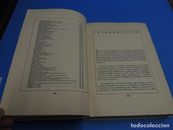 Libros: JESUCRISTO. CUADROS EVANGELICOS. Patrocinada por el Caudillo de España, Francisco Franco Bahamonde. - Foto 6 - 260559515