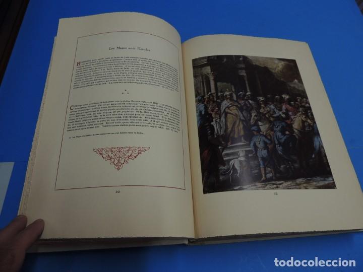 Libros: JESUCRISTO. CUADROS EVANGELICOS. Patrocinada por el Caudillo de España, Francisco Franco Bahamonde. - Foto 8 - 260559515