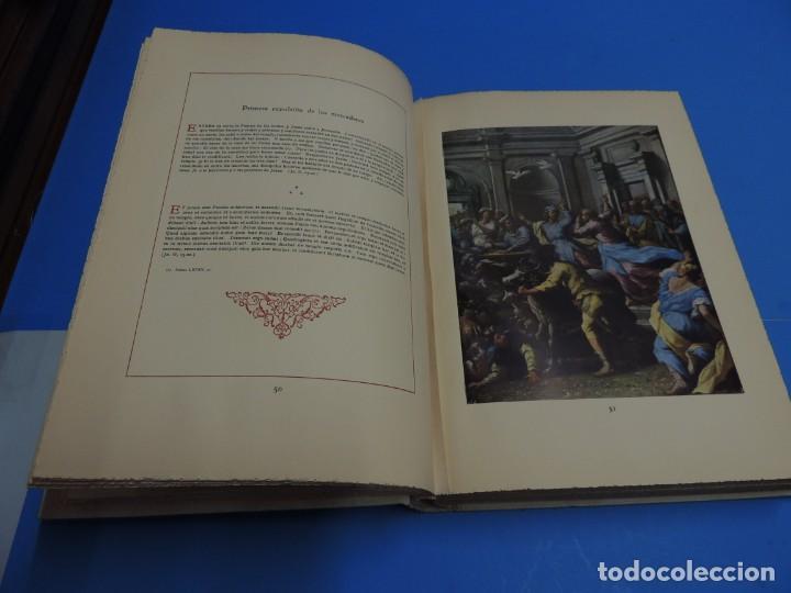 Libros: JESUCRISTO. CUADROS EVANGELICOS. Patrocinada por el Caudillo de España, Francisco Franco Bahamonde. - Foto 9 - 260559515