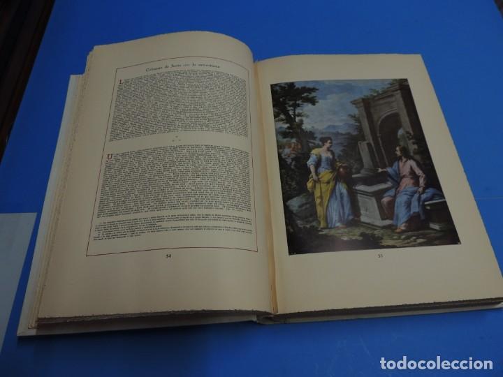 Libros: JESUCRISTO. CUADROS EVANGELICOS. Patrocinada por el Caudillo de España, Francisco Franco Bahamonde. - Foto 10 - 260559515