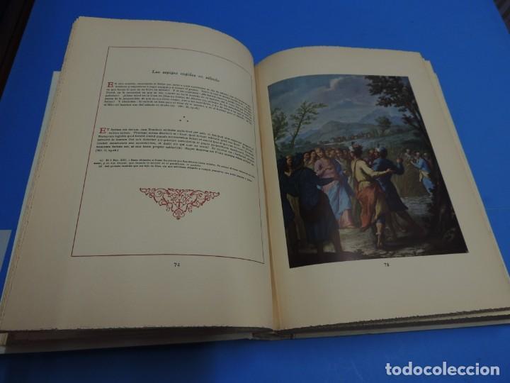 Libros: JESUCRISTO. CUADROS EVANGELICOS. Patrocinada por el Caudillo de España, Francisco Franco Bahamonde. - Foto 11 - 260559515