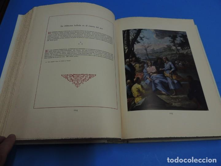 Libros: JESUCRISTO. CUADROS EVANGELICOS. Patrocinada por el Caudillo de España, Francisco Franco Bahamonde. - Foto 12 - 260559515