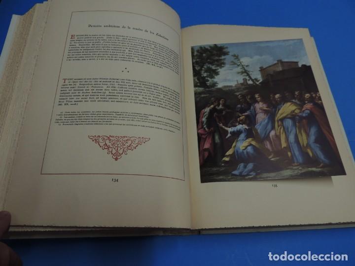 Libros: JESUCRISTO. CUADROS EVANGELICOS. Patrocinada por el Caudillo de España, Francisco Franco Bahamonde. - Foto 13 - 260559515