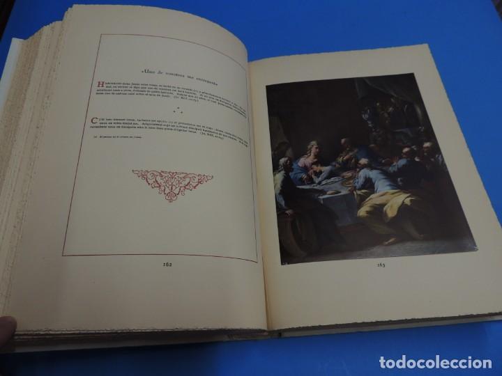 Libros: JESUCRISTO. CUADROS EVANGELICOS. Patrocinada por el Caudillo de España, Francisco Franco Bahamonde. - Foto 14 - 260559515
