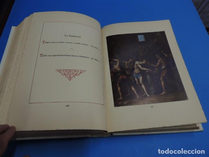 Libros: JESUCRISTO. CUADROS EVANGELICOS. Patrocinada por el Caudillo de España, Francisco Franco Bahamonde. - Foto 15 - 260559515