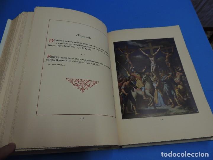 Libros: JESUCRISTO. CUADROS EVANGELICOS. Patrocinada por el Caudillo de España, Francisco Franco Bahamonde. - Foto 16 - 260559515