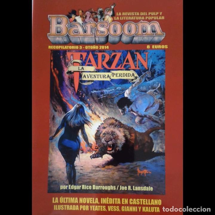 BARSOOM - RECOPILATORIO 3 - TARZAN LA AVENTURA PERDIDA (Libros Nuevos - Literatura - Narrativa - Aventuras)