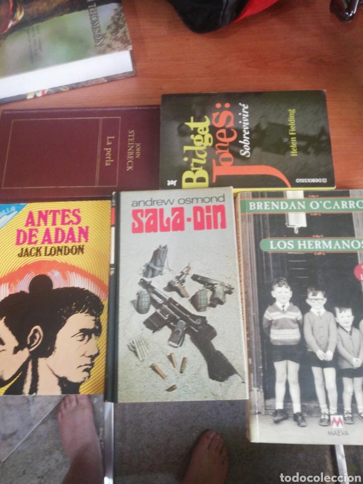 LOTE 5 LIBROS (Libros Nuevos - Literatura - Narrativa - Aventuras)