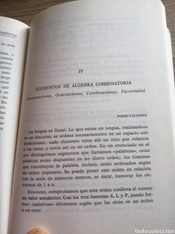 Libros: Estadística lingüística - Foto 9 - 261121550