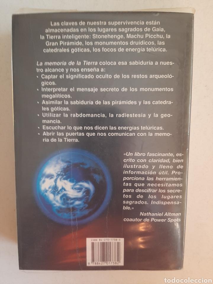 Libros: LA MEMORIA DE LA TIERRA - Paul Devereux/ Martínez Roca. Nueva Era - Foto 2 - 261121645