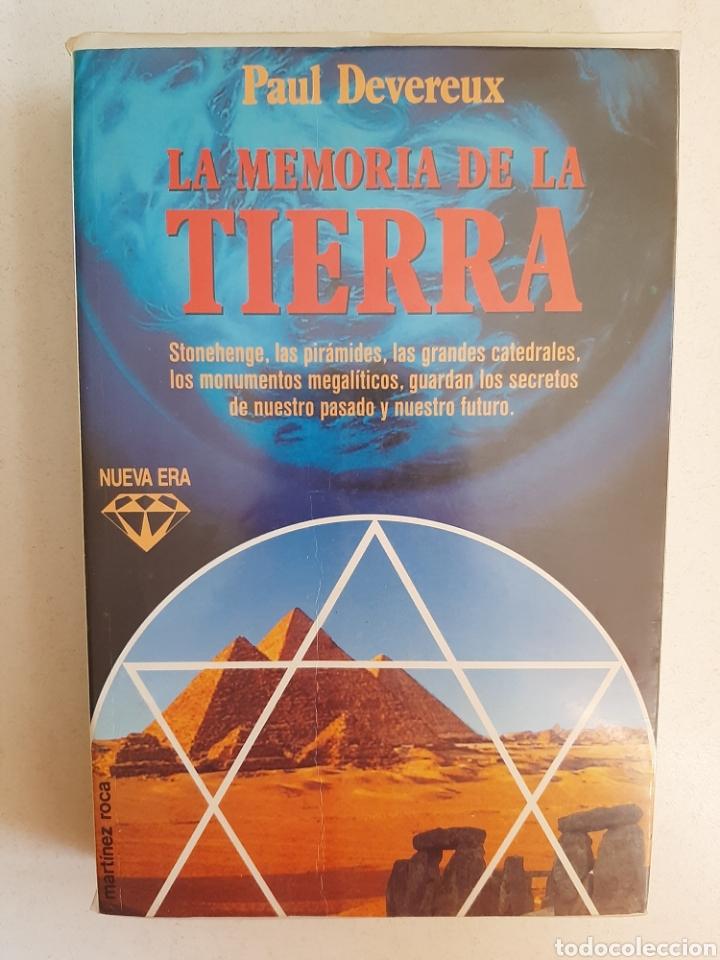LA MEMORIA DE LA TIERRA - PAUL DEVEREUX/ MARTÍNEZ ROCA. NUEVA ERA (Libros sin clasificar)