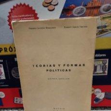 Libros: TEORIAS Y FORMAS POLITICAS...PRIMER CURSO DE FORMACION POLITICA..1965.... Lote 261237905