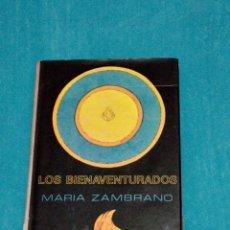 Livros em segunda mão: LOS BIENAVENTURADOS, MARÍA ZAMBRANO. Lote 261221530