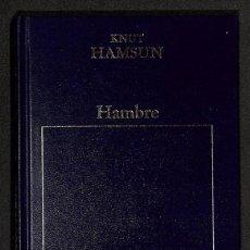 Libros: HAMBRE - KNUT HAMSUN. Lote 261699275