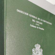 Libros: DIRECCION GENERAL DE LO CONTENCIOSO DEL ESTADO (GABIENETE DE ESTUDIOS) DELITO FISCAL 1. Lote 261850075