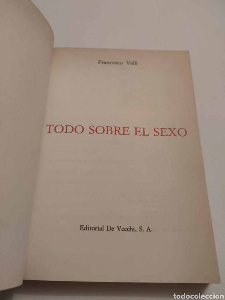 Libros: Todo sobre el sexo. Dr Fabio Valli. 1988. - Foto 3 - 261993240