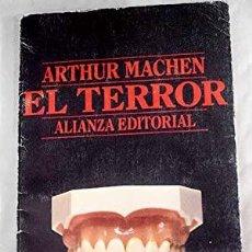 Libros: EL TERROR - MACHEN,ARTHUR. Lote 262168440