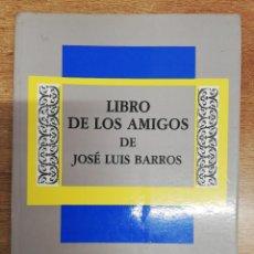 Libros: LIBRO DE LOS AMIGOS DE JOSÉ LUIS BARROS. VV.AA. EDICIÓS DO CASTRO. 1990. Lote 262253475