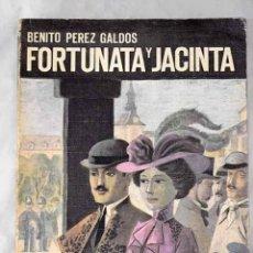 Libros: FORTUNATA Y JACINTA.- PÉREZ GALDÓS, BENITO. Lote 262497465