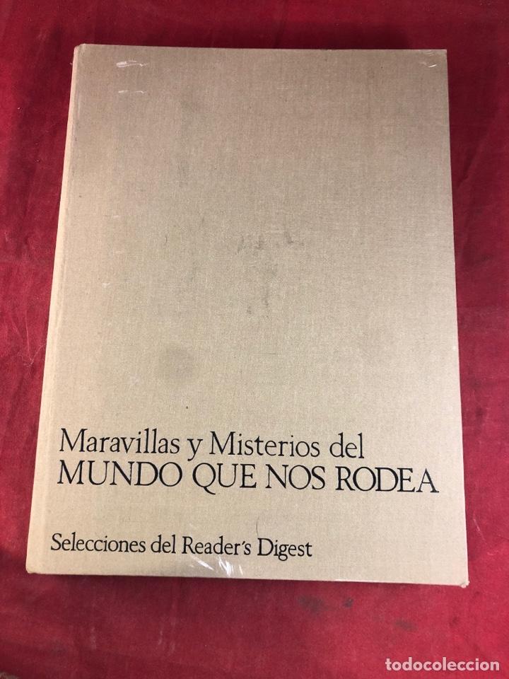 MARAVILLAS Y MISTERIOS DEL MUNDO QUE NOS RODEA (Libros sin clasificar)