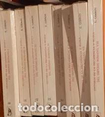 GIBBON EDWARD - HISTORIA DE LA DECADENCIA Y RUINA DEL IMPERIO ROMANO COMPLETA 8 TOMOS (Libros sin clasificar)