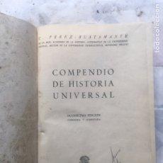 Libros: COMPENDIO DE HISTORIA UNIVERSAL Y GRAMÁTICA DE LA LENGUA ESPAÑOLA. Lote 262865880
