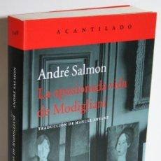 Libros: LA VIDA APASIONADA DE MODIGLIANI - SALMON, ANDRÉ. Lote 262885100