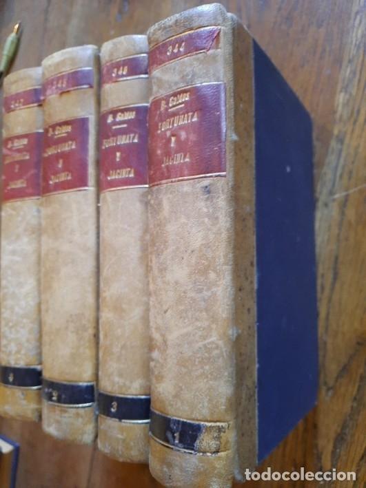 FORTUNATA Y JACINTA (DOS HISTORIAS DE CASADAS) (4 TOMOS) - BENITO PÉREZ GALDÓS (Libros sin clasificar)