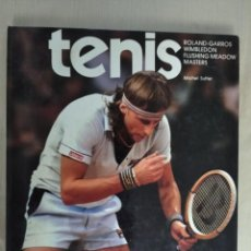 Libros: TENIS: ROLAND-GARROS, WIMBLEDON, FLUSHING MEADOW, MASTERS - MICHEL SUTTER. Lote 262958610