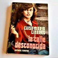 Libros: LIBRO LA CALLE DESCONOCIDA - 14 X 19.CM. Lote 262964390