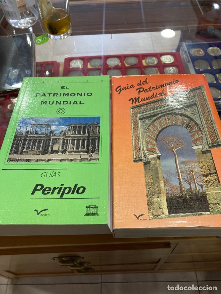 LOTE DE 2 GUÍAS EL PATRIMONIO MUNDIAL (Libros sin clasificar)
