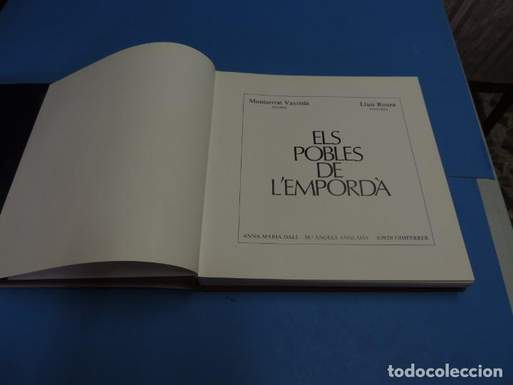 Libros: ELS POBLES DE LEMPORDA.- ROURA, Lluís (pintures). VAYREDA. Montserrat (poemes) - Foto 3 - 263124895