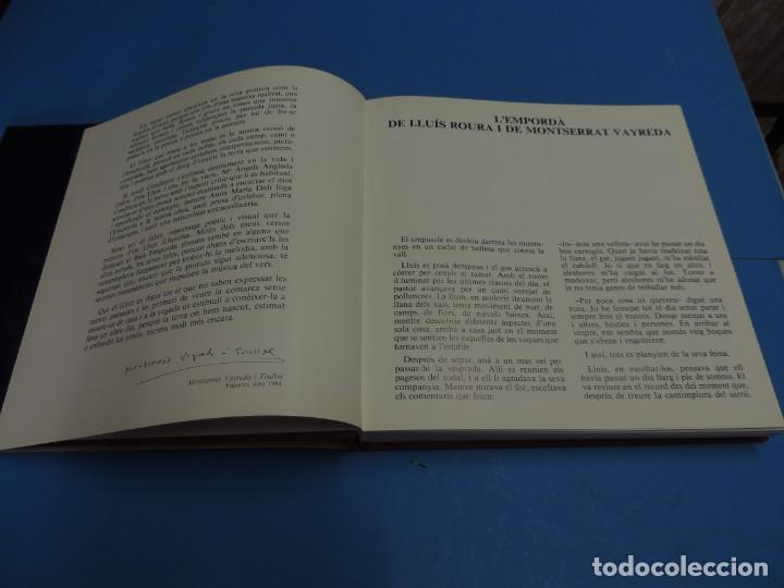 Libros: ELS POBLES DE LEMPORDA.- ROURA, Lluís (pintures). VAYREDA. Montserrat (poemes) - Foto 4 - 263124895
