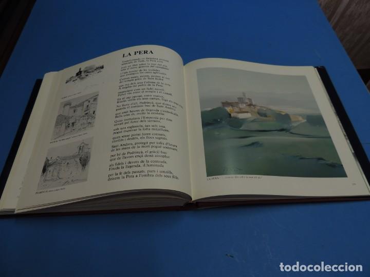Libros: ELS POBLES DE LEMPORDA.- ROURA, Lluís (pintures). VAYREDA. Montserrat (poemes) - Foto 12 - 263124895