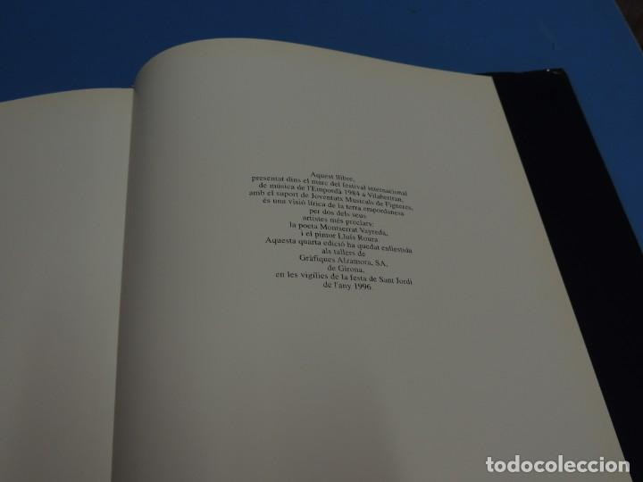Libros: ELS POBLES DE LEMPORDA.- ROURA, Lluís (pintures). VAYREDA. Montserrat (poemes) - Foto 17 - 263124895