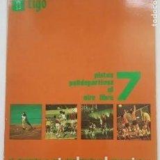 Libros: TIGO EL DEPORTE Y SUS INSTALACIONES ELEMENTALES Nº 7. PISTAS POLIDEPORTIVAS AL AIRE LIBRE. TDK389B -. Lote 263162135