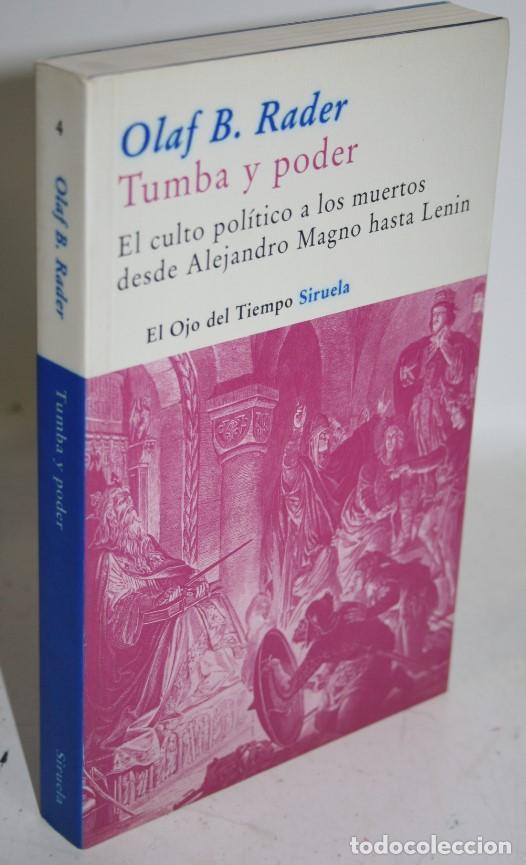 TUMBA Y PODER - RADER, OLAF B. (Libros sin clasificar)