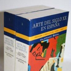 Libros: ARTE DEL SIGLO XX EN ESPAÑA. 2 TOMOS - BOZAL, VALERIANO. Lote 263561125