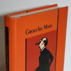 Libros: MEMORIAS DE UN AMANTE SARNOSO - MARX, GROUCHO. Lote 263561130