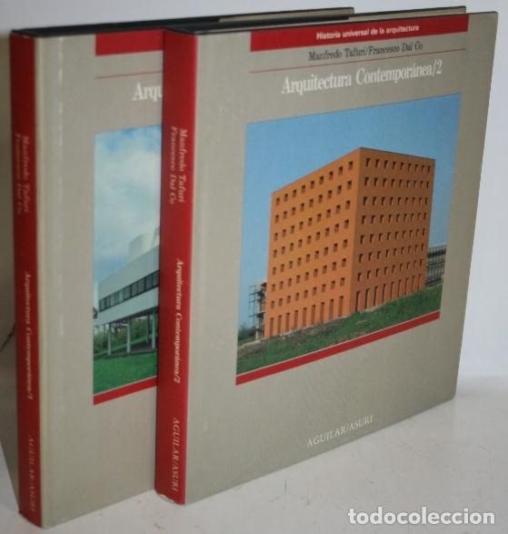 ARQUITECTURA CONTEMPORÁNEA. 2 TOMOS - TAFURI, MANFREDO & DAL CO, FRANCESCO (Libros sin clasificar)