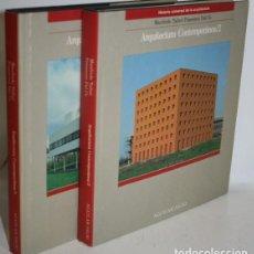 Libros: ARQUITECTURA CONTEMPORÁNEA. 2 TOMOS - TAFURI, MANFREDO & DAL CO, FRANCESCO. Lote 263561135