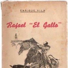 """Livros em segunda mão: RAFAEL """"EL GALLO"""" - VILA, ENRIQUE. Lote 263885690"""