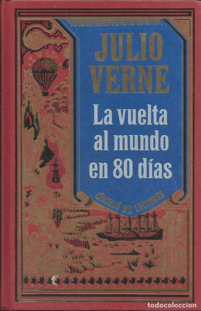 Libros: Colección Julio Verne completa 12 tomos. / Círculo de lectores. - Foto 2 - 263657160